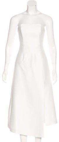 C/MEO Collective Bandeau Midi Dress w/ Tags