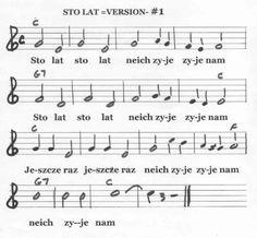 Sto Lat Sheet Music
