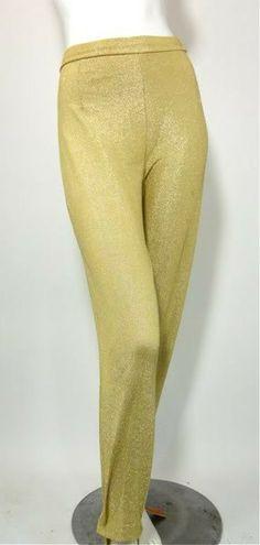 Gold Paisley Jacket and Stirrup Capri Pants circa 1960s - Dorothea's Closet Vintage