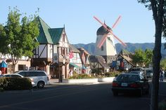 Solvang Dutch Village in Santa Ynez (Near Santa Barbara) 1911-2011 Centennial
