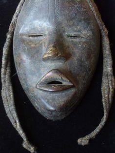 Extraordinary Dan Mask Beautiful Old Traditional Tribal Mask Liberia African Masks, African Art, Liberia Africa, Dan, Mystery, Sculptures, Faces, Spirit, Traditional