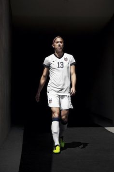 Alex Morgan... The best Forward I've ever seen.