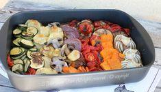 Verdure al forno ricetta contorno leggero e saporito: facile, economica e stuzzicante. Un contorno colorato ideale per accompagnare secondi di carne e pesce