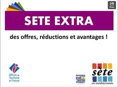 Bon plan : la carte numérique Sète Extra - Côté Loisirs Magazine
