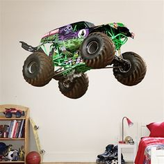 1000 Images About Monster Truck Room Ideas On Pinterest