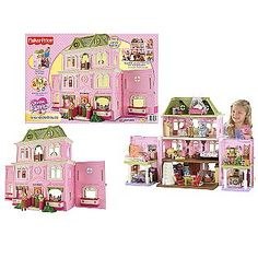 Fisher-Price loving family grand doll house..					   					   				Loving Family Grand Dollhouse