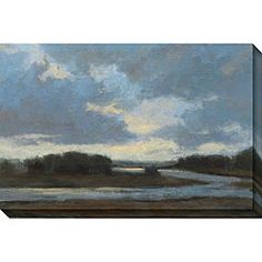 Kim Coulter 'Night II' Oversized Canvas Art $135.99     32 x 48