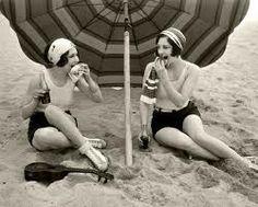 For bathroom. Vintage Beach Photos ~ passion for the ocean, beach, waves, surf #piccolets