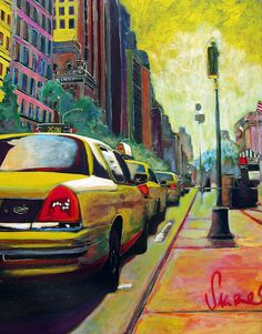 taxis at the museum by torbakhopper, via Flickr