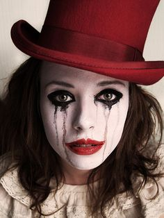 """♥""""Don't let my glad expression, give you the wrong impression, cause really I'm sad....Tears of a clown"""