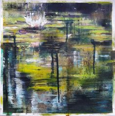 Joanne Reen: Water Garden Study, Nieu Bethesda: fine art   StateoftheART Canvas Fabric, Oil On Canvas, South African Artists, Water Garden, Original Artwork, Study, Fine Art, Gallery, Painting