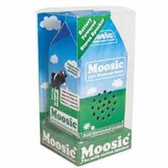 Moosic Speaker - The Milk Carton Speaker