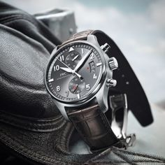 Classic elegance and technological development are the hallmarks of the new IWC Spitfire Chronograph.