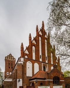 The Transfiguration of our Lord Teutonic gothic church from XIV c., Ilawa (Eylau), Poland
