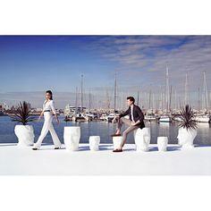 Adan Planter, Outdoor Lighted Furniture Design at Cassoni.com