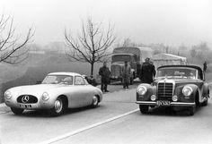 60 años de los fantasmas de Sindelfingen: La hermosa historia de David Douglas Duncan su Mercedes 300 SL