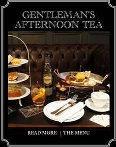 Gentleman's Afternoon Tea at Reform Social & Grill