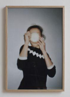 Ana Kras / A Girl with a Coffee Cup Semi gloss photo paper / Print edition of 5 B: 45 x H: 66 cm Ana Kras, Dora Maar, Taking Shape, I Love Coffee, Designer Wallpaper, Amazing Women, Coffee Cups, Caffeine, Photographs