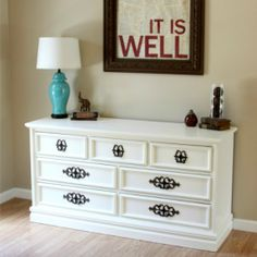 Want new furniture but don't have the budget for it? Here's how I transform thrift store furniture into the perfect pieces!