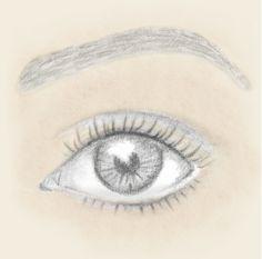Schritt für Schritt die Augen größer schminken