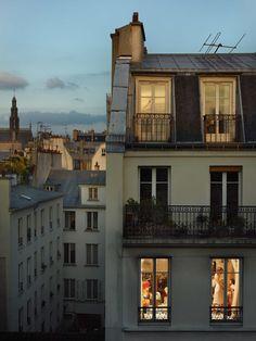 "oasischilde: ""Gail Albert Halaban: Paris Views, courtesy of Edwynn Houk Gallery. Parisian Architecture, Beautiful Places, Beautiful Pictures, Little Paris, Europe Destinations, Facade House, City Lights, Travel Photography, Paris France"