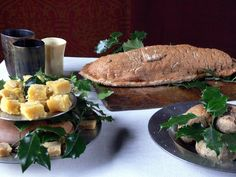 Fish 'Coffin' Pie and Sweetmeats