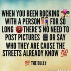 The streets already know..120309 love ya babe !