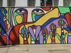 murales ramona parra - Buscar con Google Banksy, Les Stickers, School Murals, Amazing Street Art, Mural Ideas, Street Art Graffiti, Wall Treatments, Art Lessons, Wall Murals