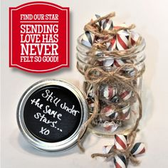 Love Jar, Deployment Gifts, Military Gifts, Gift Ideas, How To Make