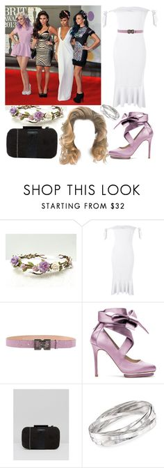 """Little Mix Brit Awards 2013"" by katiehorror ❤ liked on Polyvore featuring Boohoo, Dsquared2, Liam Fahy, Lotus and Ross-Simons"