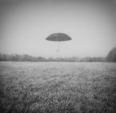 кое что о зонте ,тумане и осени / something about umbrella, fog  and autumn.