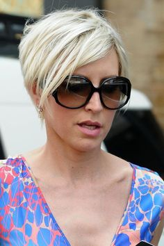 New Women Blond Short Hairstyles 2011