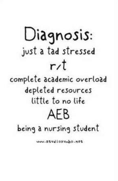 Nursing student. This is a perfect description of how my life is currently. #nursingschool
