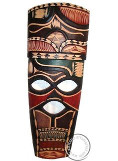 colorful african tribal masks - Google Search
