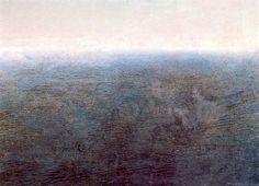 El Mar  by Antonio López García  oil on canvas
