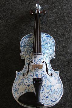 Violino azul