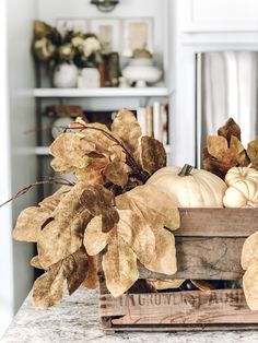 Embracing Autumn ~ a peek inside my home ~ LeCultivateur Fall Home Decor, Autumn Home, Porches, Natural Fall Decor, Outside Fall Decorations, Vintage Fall Decor, Fall Vignettes, Autumn Inspiration, Vases Decor