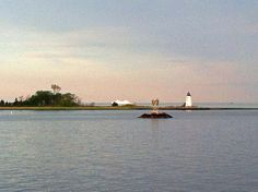 Lighthouse and Ferry