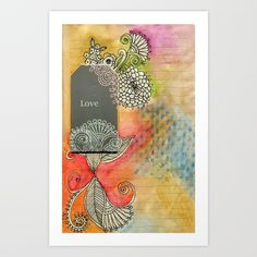 Love Doodled for Dorm Life by Bestree Art Designs, $17.68. https://society6.com/product/love-doodled-for-dorm-life-fcz_print#s6-4682864p4a1v45