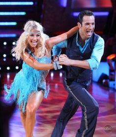DWTS Season 5 Fall 2007 Hélio Castroneves and Julianne Hough