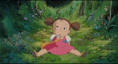 """My Neighbor Totoro (aka """"Tonari no Totoro"""" ) directed by Hayao Miyazaki Japan 1988"""