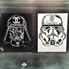 Alec Monopoly does Star Wars | Good vs Evil | Darth Vader Vs Storm Trooper | Chanel Vs Cartier | Black and White