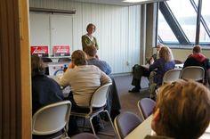 Tammy speaks with College Democrats at UW-Milwaukee