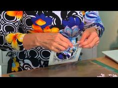 Crafting My Style with Sue Wilson - Curved Frame Card for Creative Expressions - YouTube