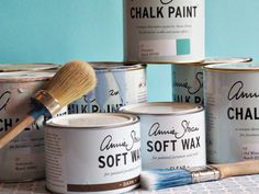 Bring On The Chalk Paint… An Annie Sloan Workshop at Love Handmade – laurendloves Upcycling Ideas, Paint Effects, Annie Sloan, Baking Ingredients, Chalk Paint, Painted Furniture, Wax, Workshop, Bring It On
