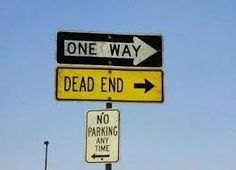 Signs are supposed to direct us to certain places or inform us of what we can and cannot do. Signs can be universal just by using pictures so they are easily Dead End Sign, Funny Road Signs, Dead Ends, Smosh, Practical Jokes, Fresh Memes, Really Hard, Life Is Hard, Warning Signs