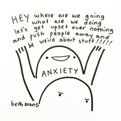 Anxiety by Beth Evans