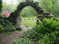 A secret garden gate. I wish....