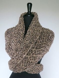 Outlander Inspired Dark Beige Gray Taupe Color by KnitsomeStudio