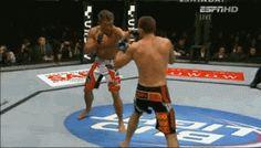 Yoshihiro Akiyama, Judo takedown.